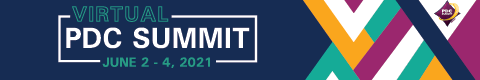 2021 PDC summit banner image